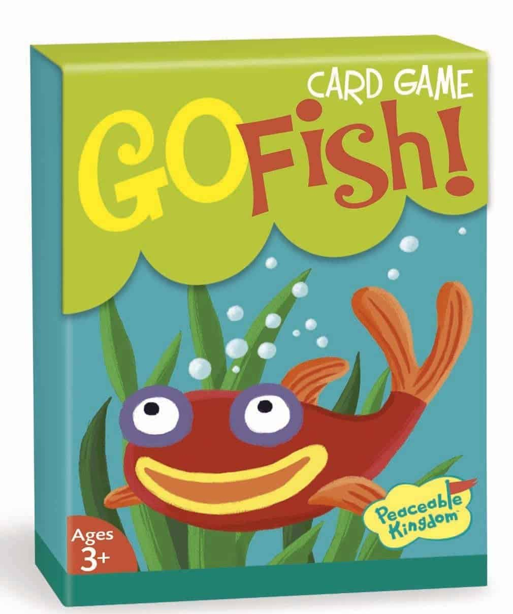 10+ Awesome Card Games for Kids : Go Fish | www.thepinningmama.com