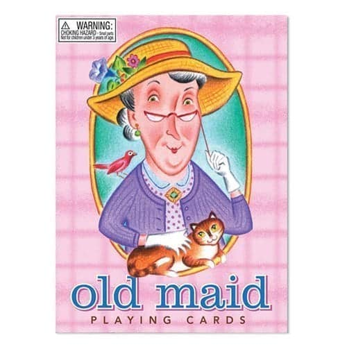 10+ Awesome Card Games for Kids : Old Maid | www.thepinningmama.com