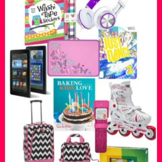 The ultimate list of gift ideas for a 9 year old girl- see 25+ of the best gift ideas for birthday or Christmas and anything in between