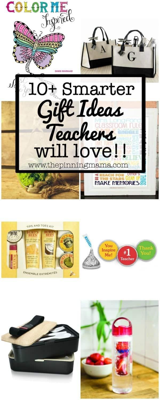 10+ Smarter Gift Ideas Teachers will Love! | www.thepinningmama.com