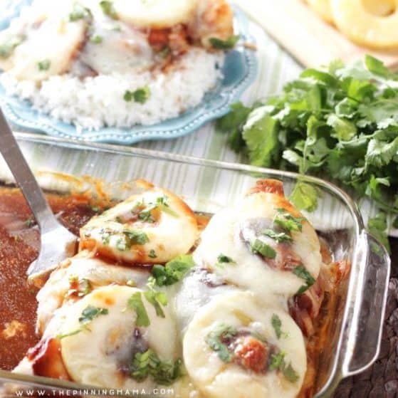 Sweet and Tangy Hawaiian Chicken Bake Recipe