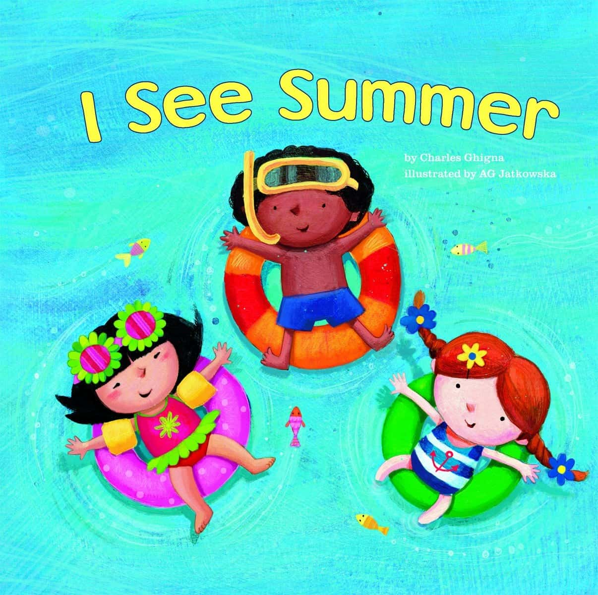 10+ Top Books for Kids to Read this Summer: I See Summer | www.thepinningmama.com