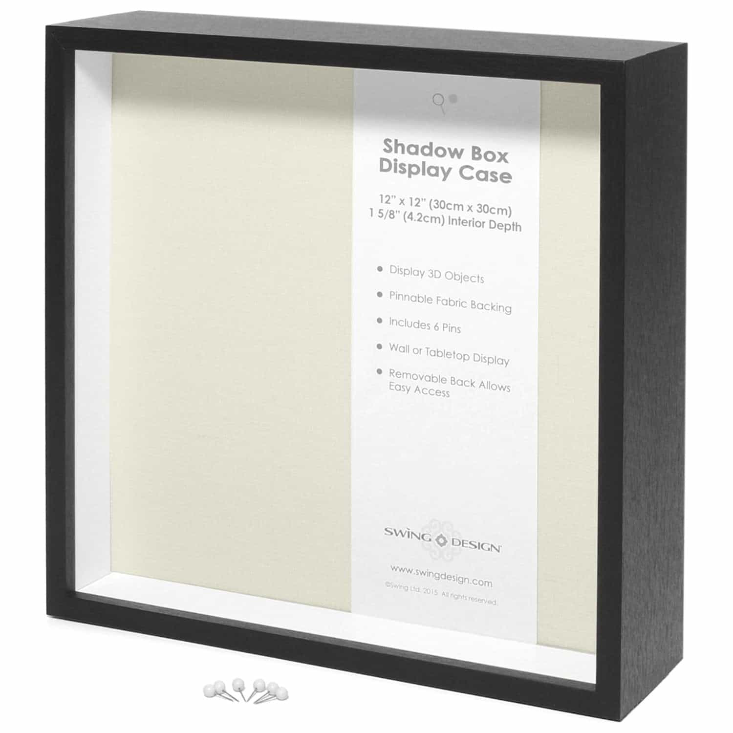 Awesome Crafting Blanks You Can Get on Amazon Prime : Shadow Box | www.thepinningmama.com