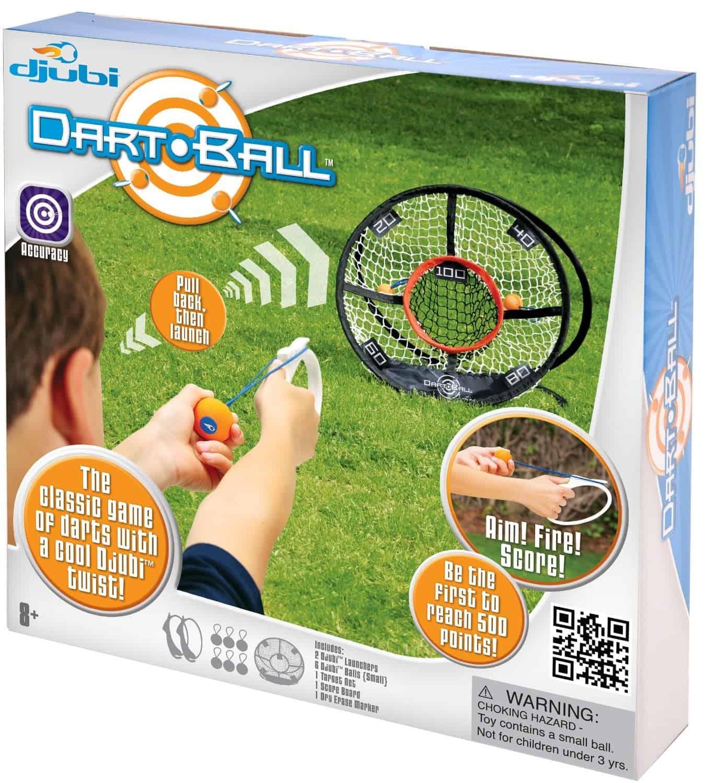10+ Crazy Fun Outdoor Games Perfect for a Backyard Barbecue: Djubi Dart Ball | www.thepinningmama.com