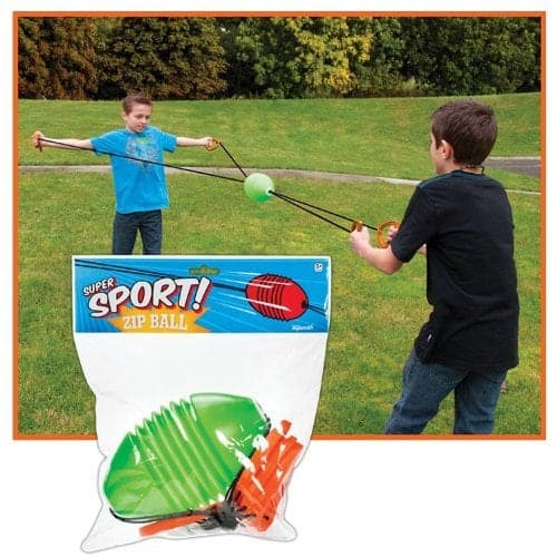 10+ Crazy Fun Outdoor Games Perfect for a Backyard Barbecue: Zip Ball | www.thepinningmama.com