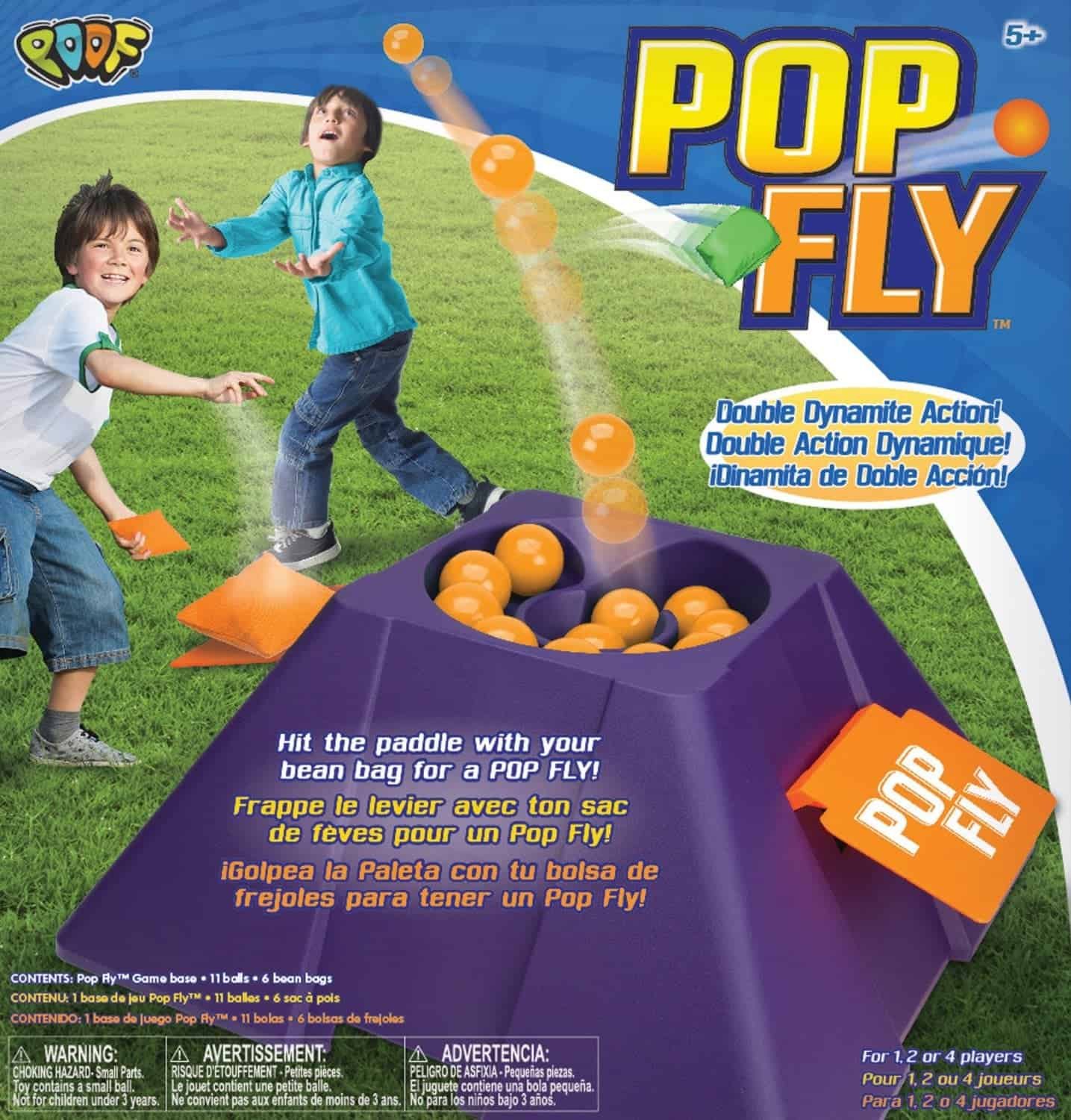10+ Crazy Fun Outdoor Games Perfect for a Backyard Barbecue: Poof Pop Fly | www.thepinningmama.com