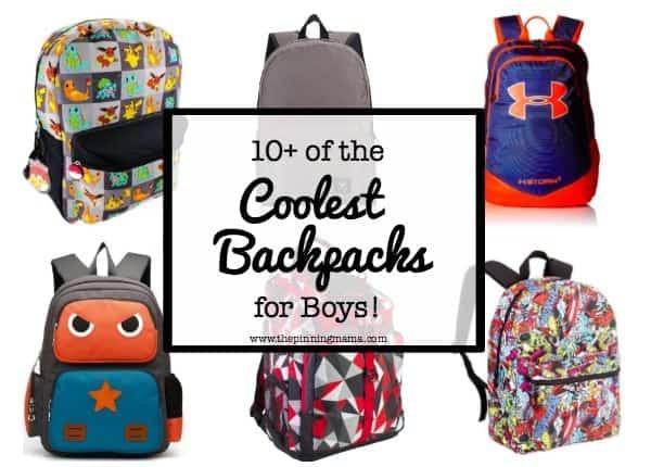 10+ Best Backpacks for Boys   www.thepinningmama.com
