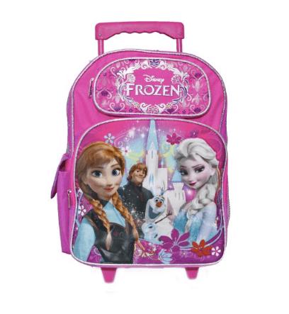 10+ Coolest Backpacks for Girls: Frozen Roller| www.thepinningmama.com