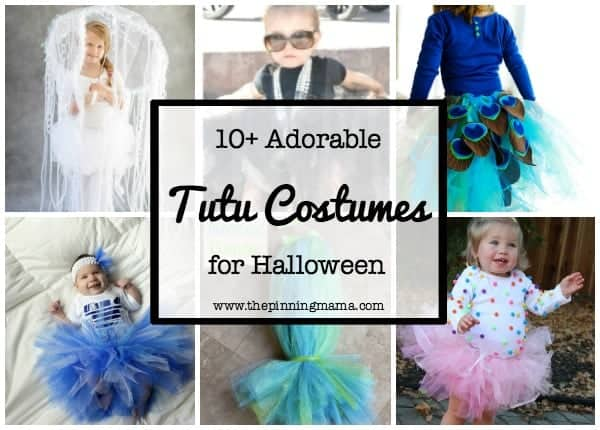 10+ Adorable Tutu Halloween Costumes  www.thepinningmama.com