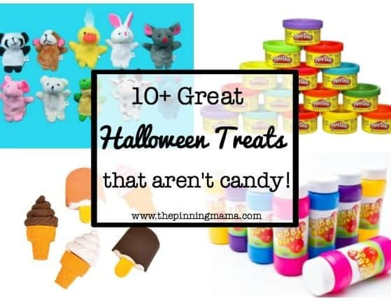 10+ Great Halloween Treats to Give out that Aren't Candy| www.thepinningmama.com