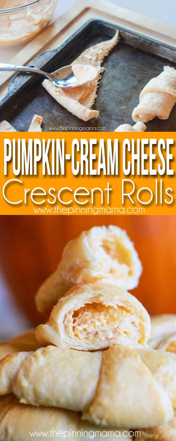 Pumpkin Cream Cheese Crescent Roll Recipe The Pinning Mama