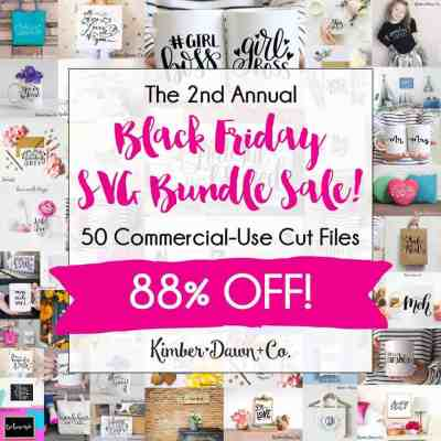 Silhouette Cut File Bundle - Black Friday Sale