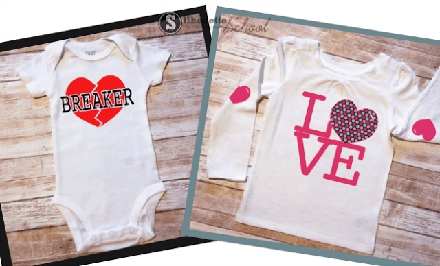 Heart Breaker Valentine's Day Shirt for Boys - What a cute idea!! Free Cut file for Silhouette CAMEO included!