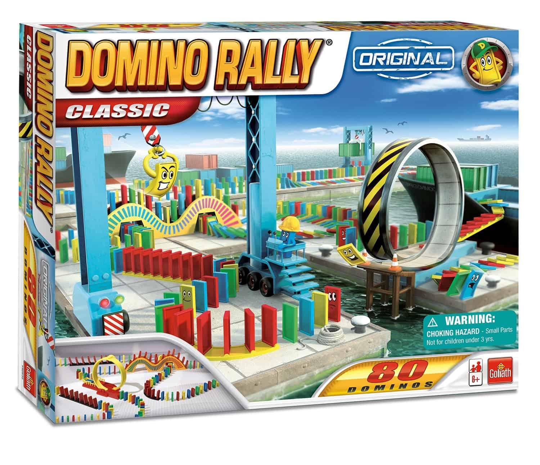 10+ Super Entertaining Stem Toys for Kids: Domino Rally | www.thepinningmama.com
