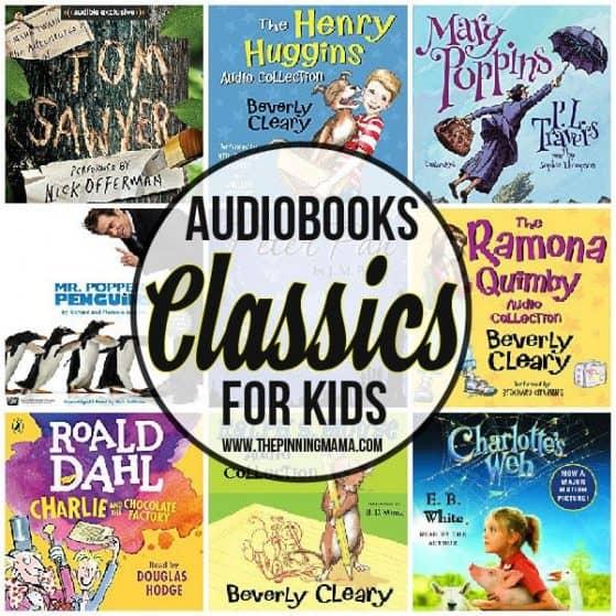 Classic Audiobooks for Kids