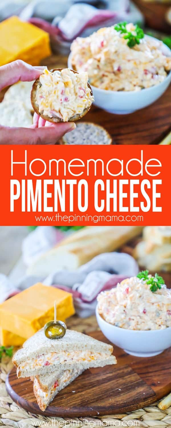 How to make Pimento Cheese the easy way!