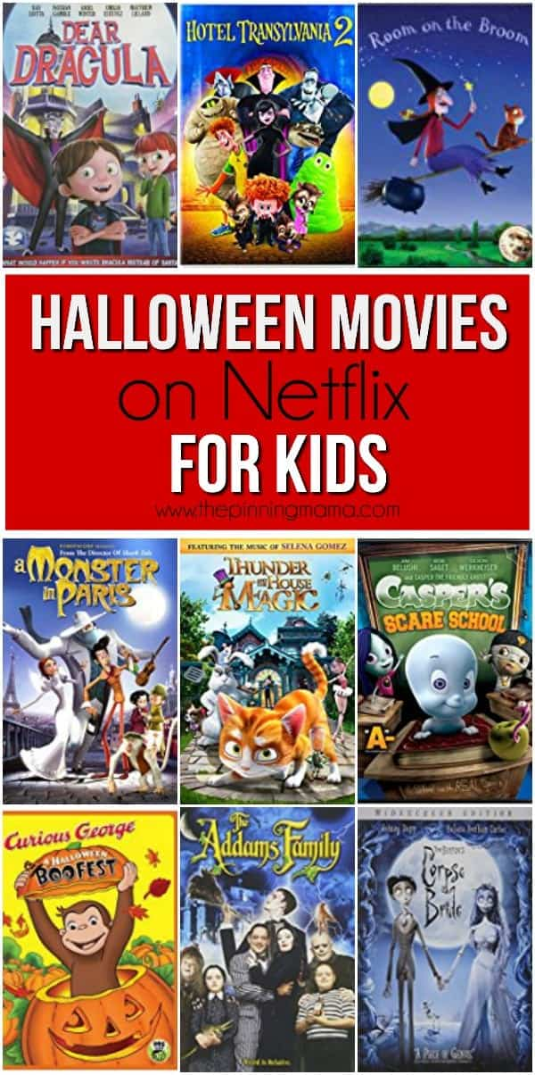 Great family movies on netlix for halloween