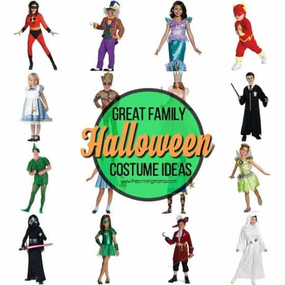 halloween family costume ideas