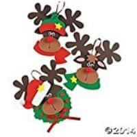 Reindeer Ornaments for your School Parties