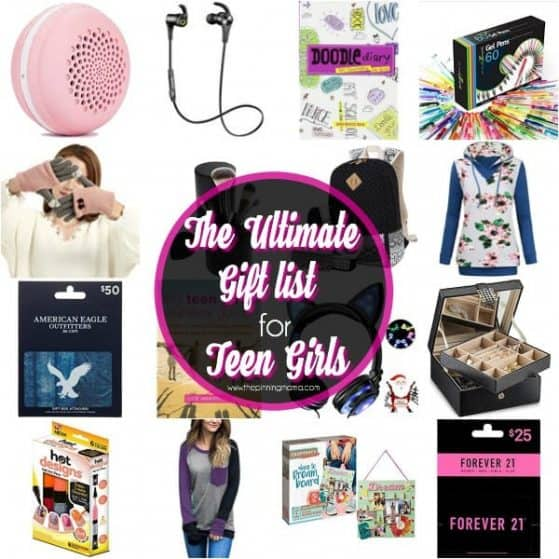 Big List of Gift Ideas for Your Teen