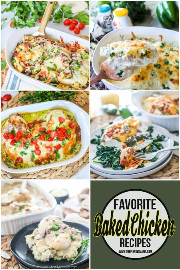 Simple Baked Chicken Recipes