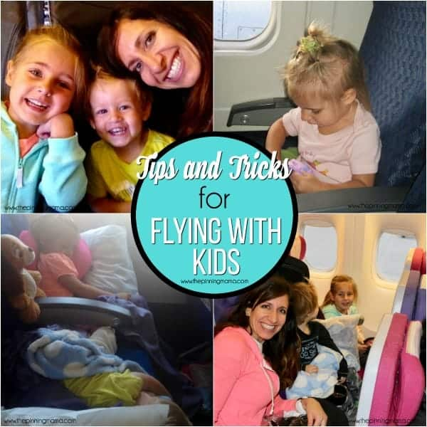 The Ultimate list of Tips and Tricks for Flying with Kids.
