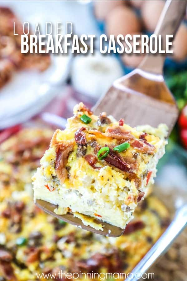 Sausage Breakfast Casserole with Hashbrowns