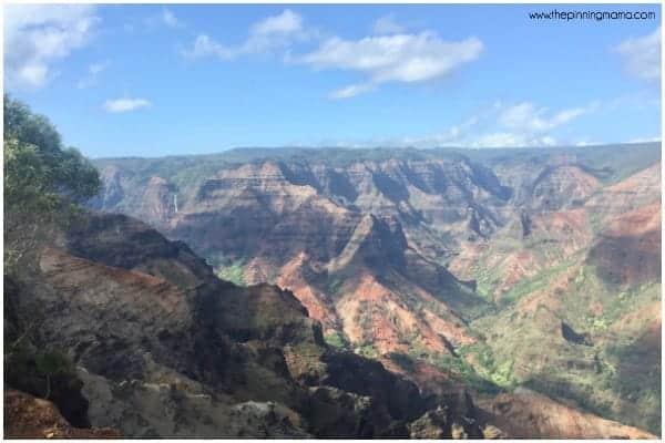 Explore Waimea Canyon in Kauai.