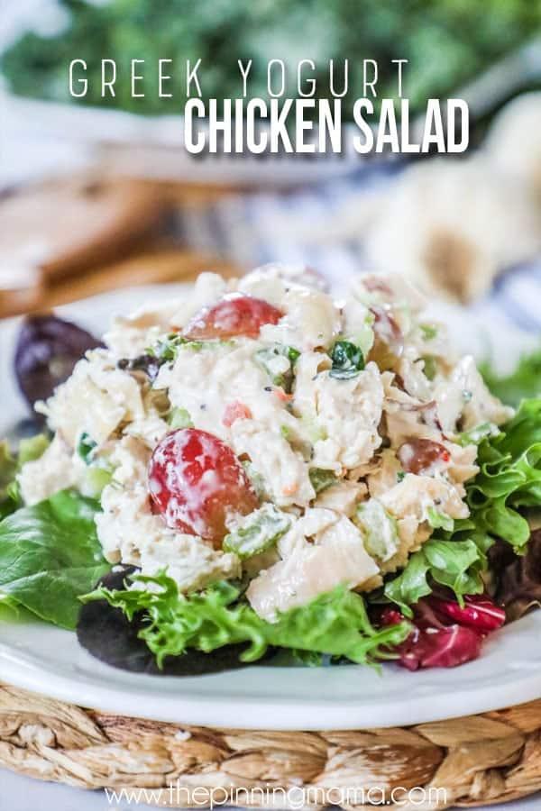 FAVORITE Greek Yogurt Chicken Salad