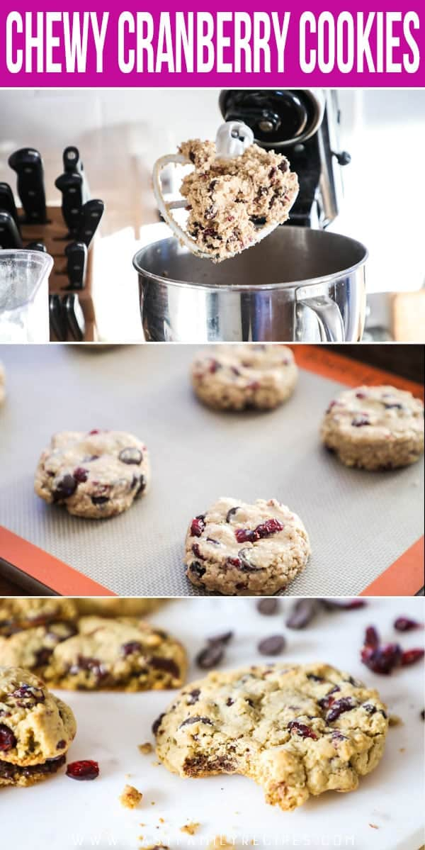 How to Make Cranberry Oatmeal Cookies
