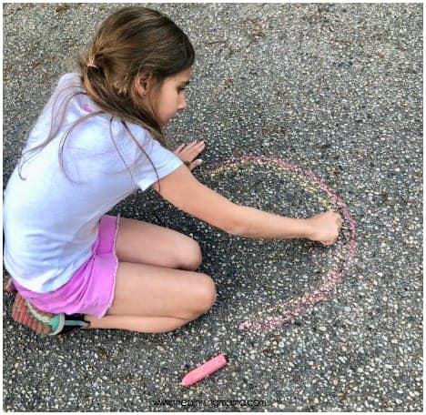 Side Walk Chalk art fir school parties.