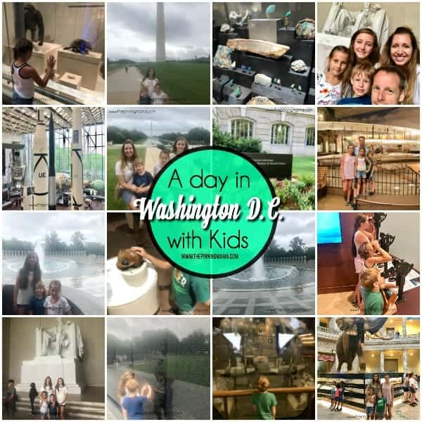 A day in Washington D.C. with Kids.