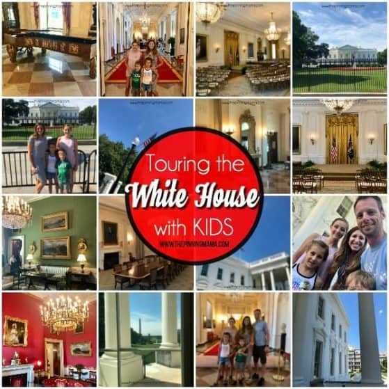 all about Touring the White House with KIDS.