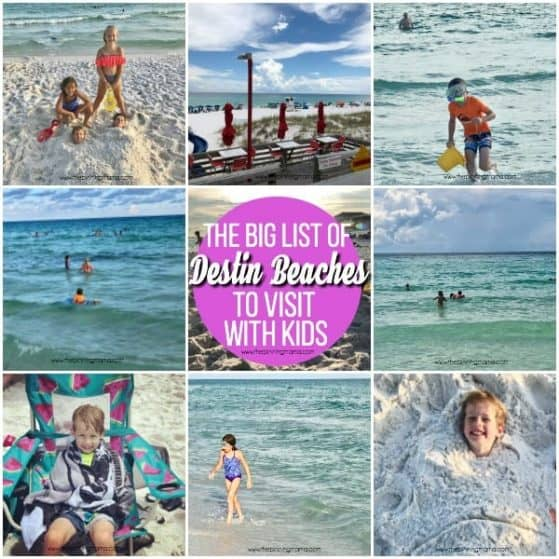 The Big List of Destin Beaches for Kids