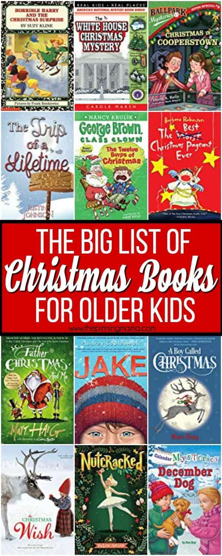The Big List of Christmas Books for Older Kids