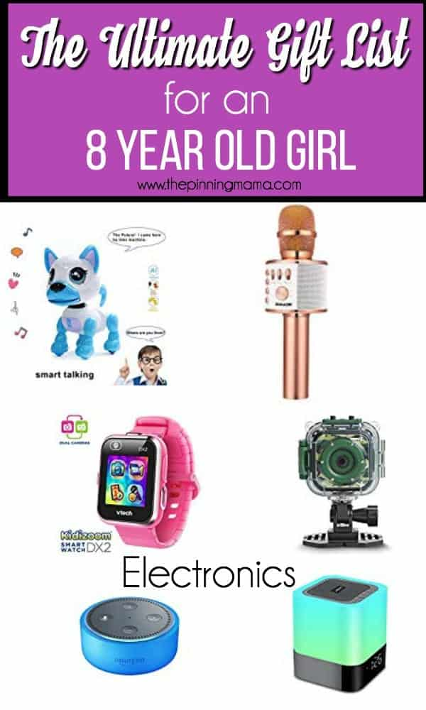 The ultimate gift list for an 8 year old girl, electronics.