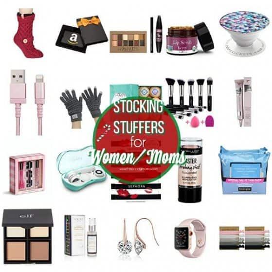 The Ultimate List of Stocking Stuffer for Women/Moms.