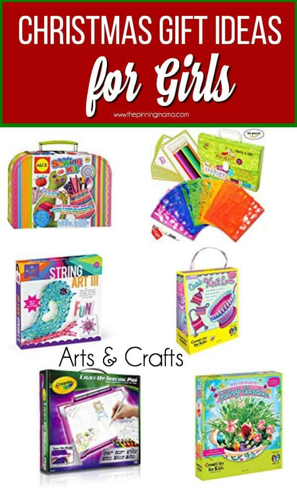 Christmas Gift Ideas for Girls, Arts & Crafts for girls.