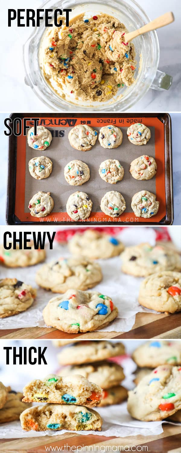How to Make M&M cookies-