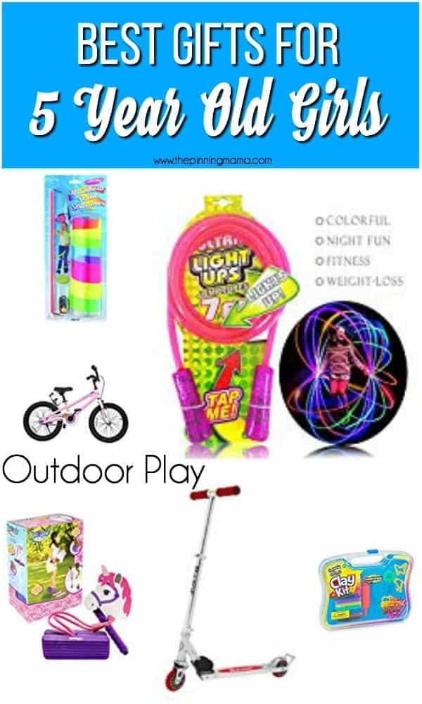Best List of Outdoor play gift ideas for girls, birthday or Christmas