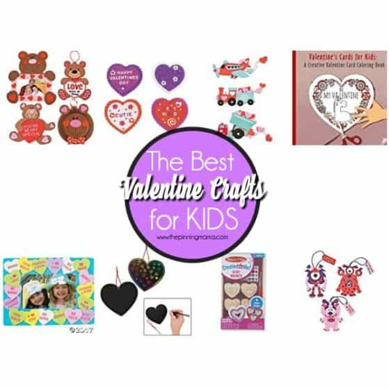 The Big List of Valentine Crafts for Kids.