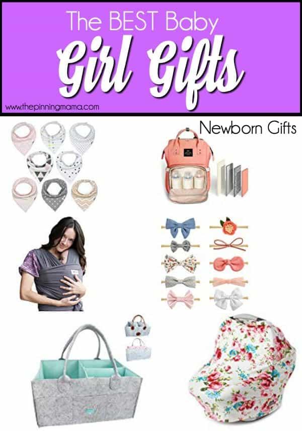 Newborn Girl Gifts Ideas