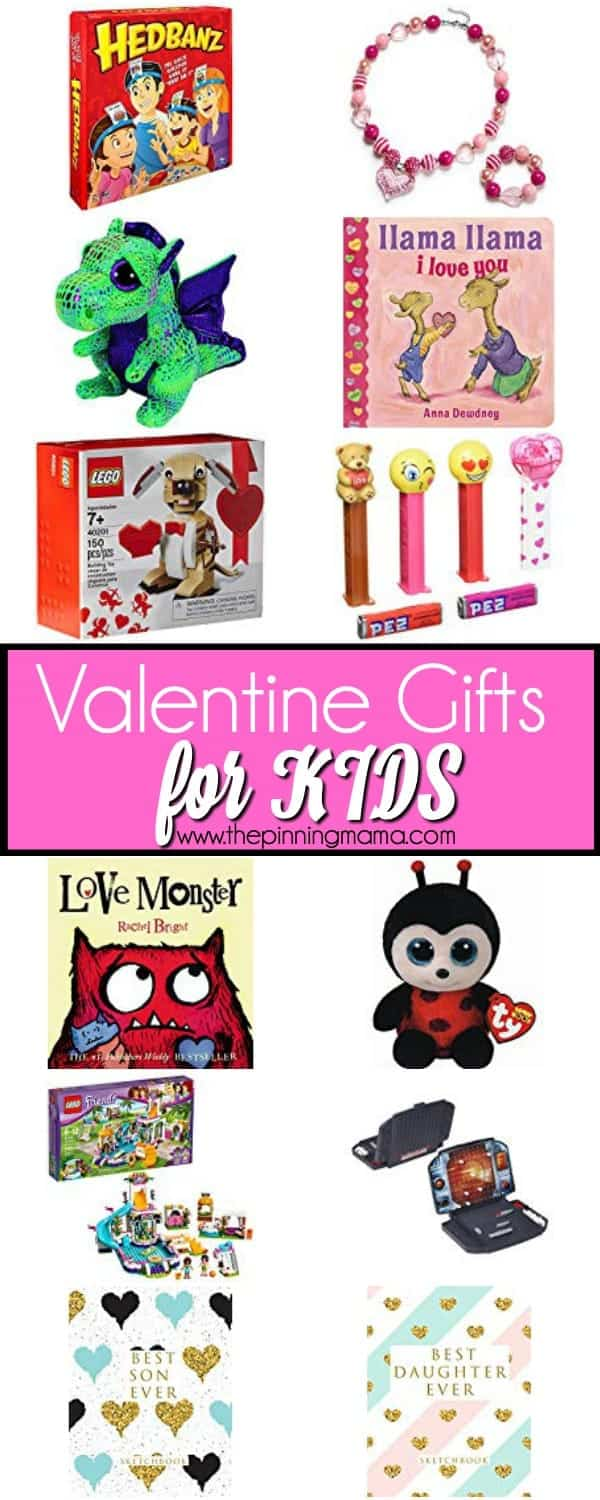 The Big List of Valentine Gift Ideas for KIDS.