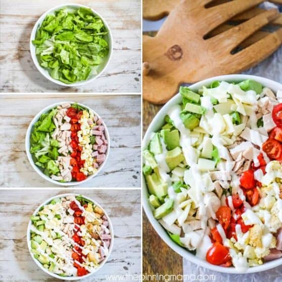 Chef Salad is easy, delicious, and full of flavor.