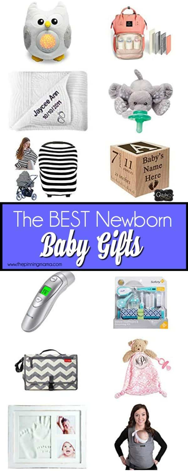 The ultimate List of gift ideas for Newborns.