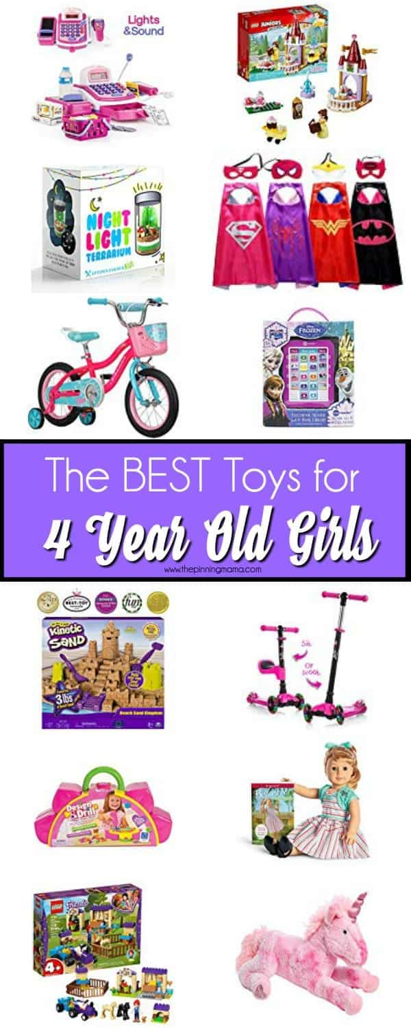 The Big List of Toys for 4 year old girls.