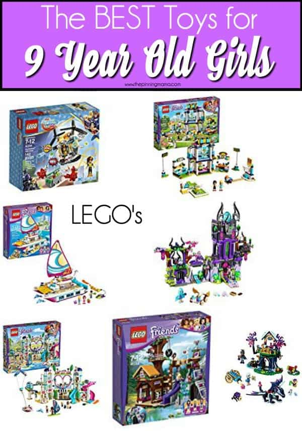 The BEST LEGO's for 9 year old girls.