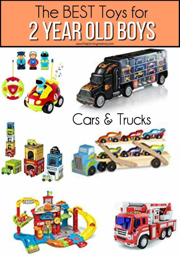 The BEST Cars & Trucks for 2 year old boys.