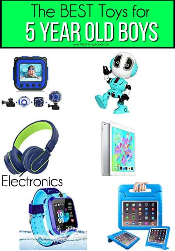The BEST electronics and gadgets for 5 year old boys.