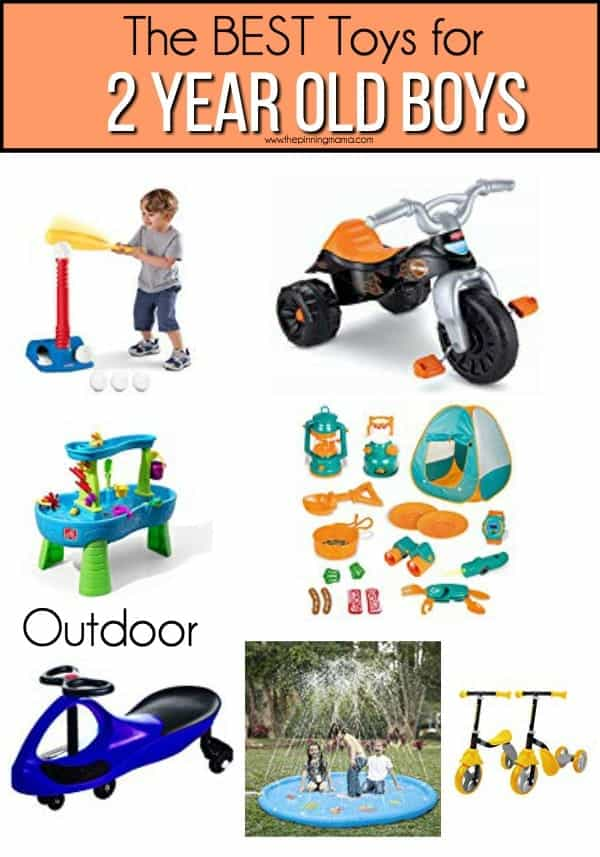 The BEST outdoor toys for 2 year old boys.